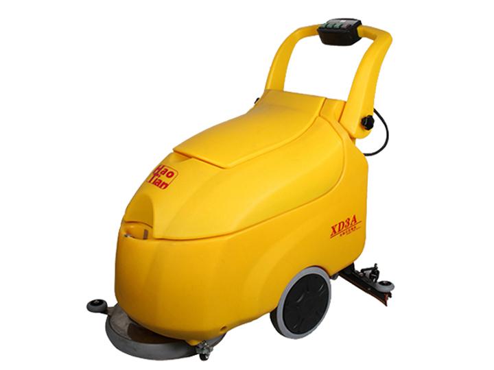 西安清潔設備電瓶式洗地機與電線式洗地機的區別?如何選擇洗地機?